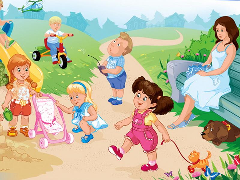 Картинки на лето в детский сад