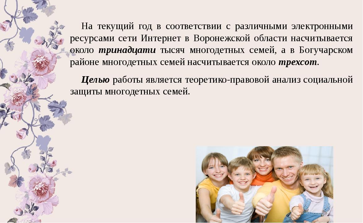 Многодетная семья и ее социальная защита реферат 3735