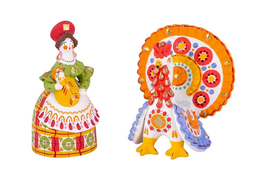 Картинки дымковской игрушки для детей