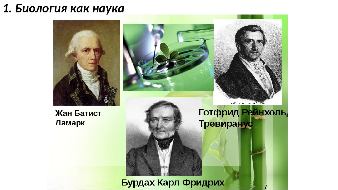 1. Биология как наука