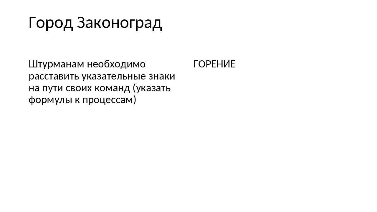 Город Законоград Штурманам необходимо расставить указательные знаки на пути с...