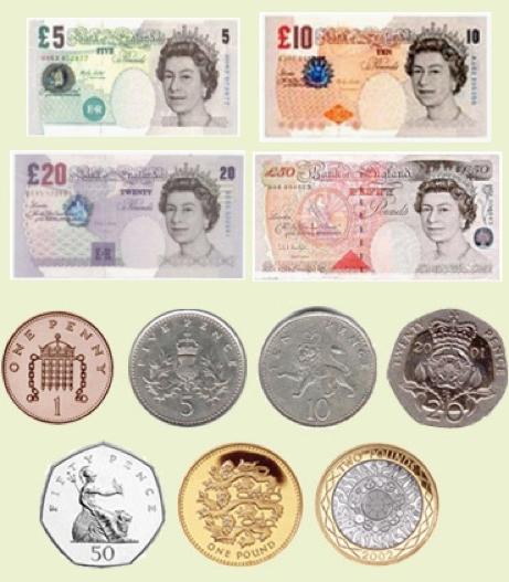машины фунты стерлингов картинки монет распечатать всех