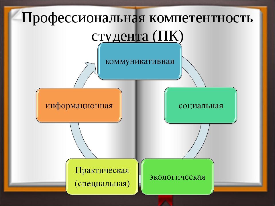 Профессиональная компетентность студента (ПК)