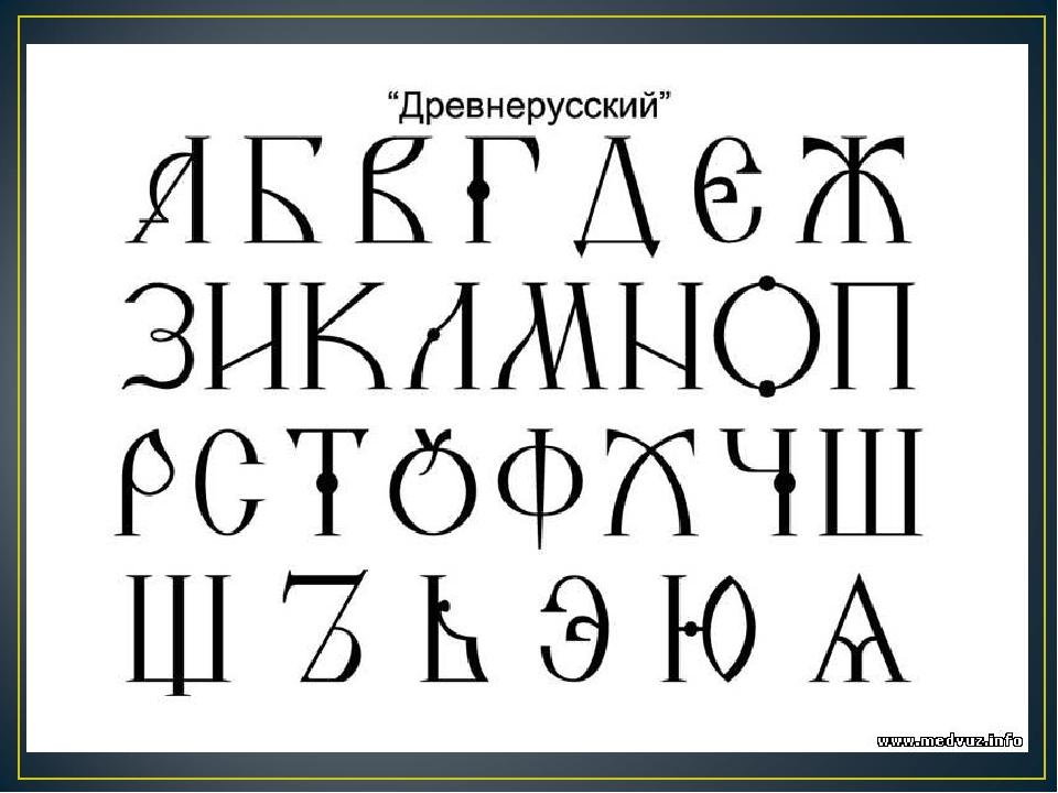 картинки славянский шрифт для начала как минимум