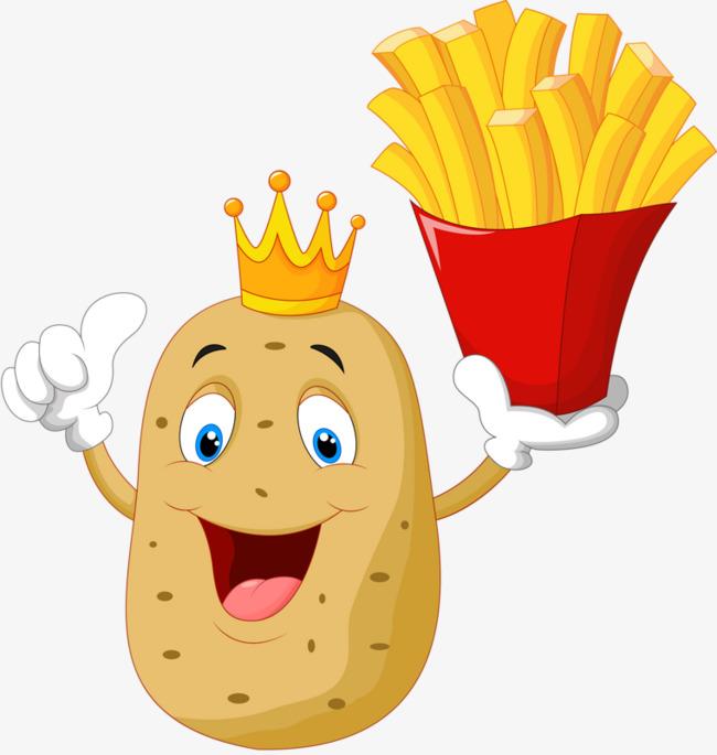 Смешные картинки картошка фри, поздравления