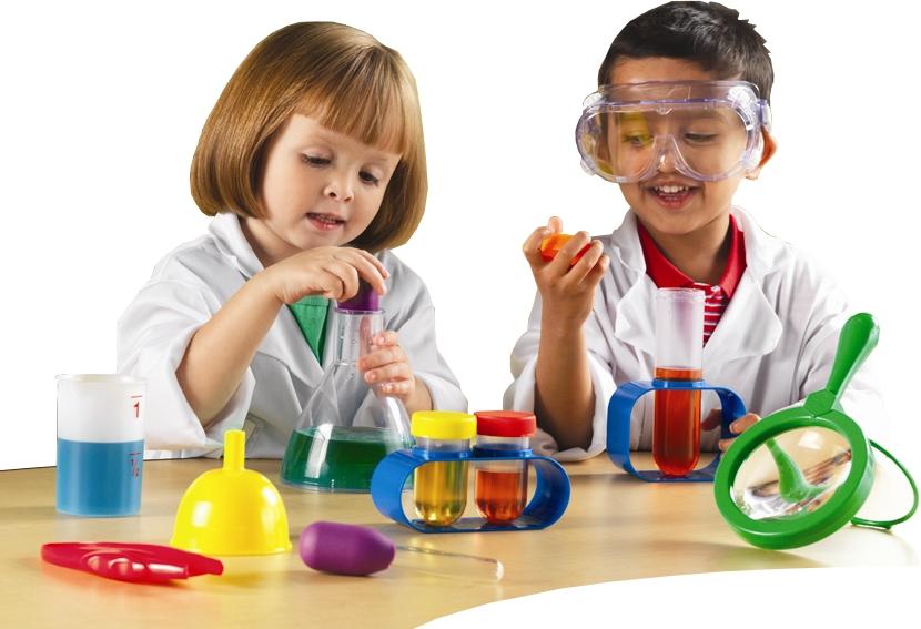 Картинка эксперименты детей