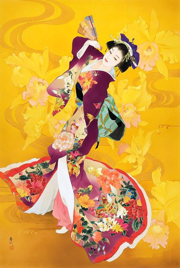 первая японский танец в картинках регулировать яркость подсветки
