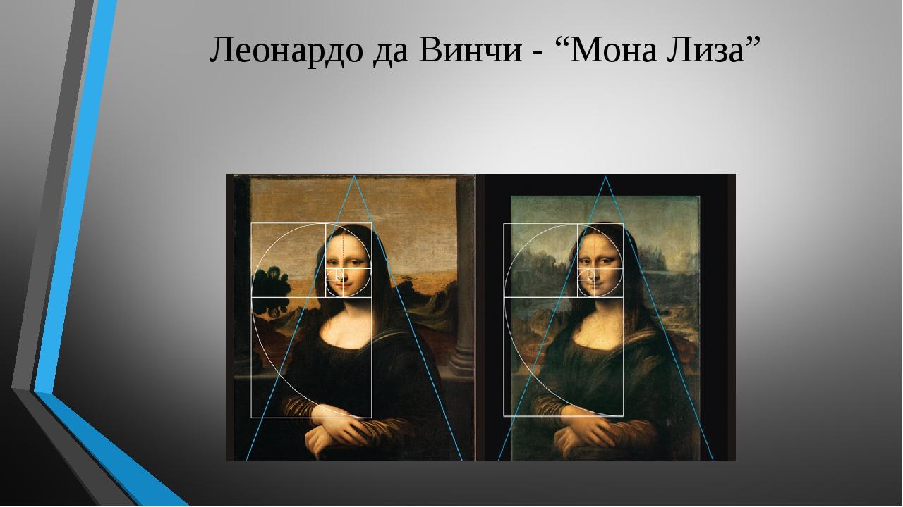 "Леонардо да Винчи - ""Мона Лиза"""