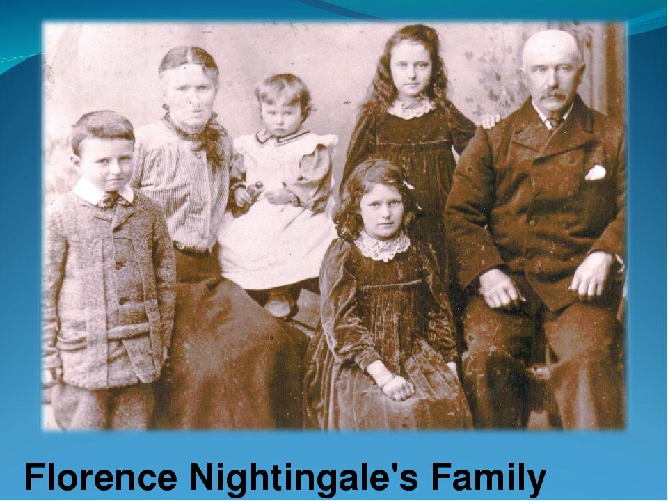 Florence Nightingale's Family