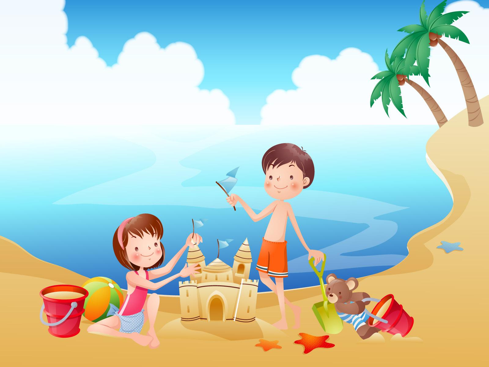 Картинки на летнюю тему с детьми