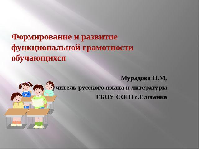 девушка модель работы учителя по развитию функциональной грамотности учащихся