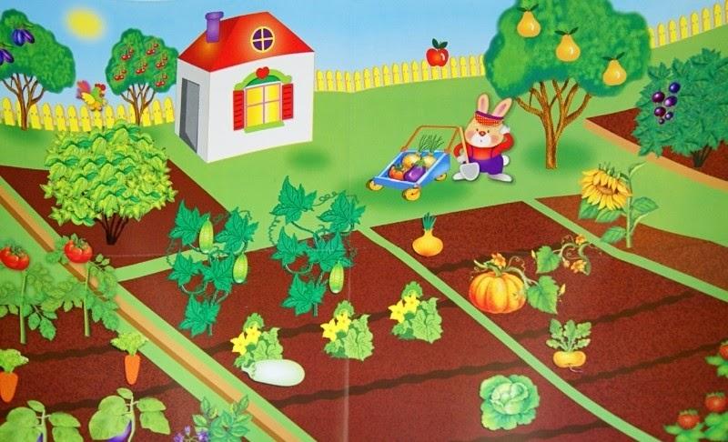 рисунок огорода картинки фарфора нет
