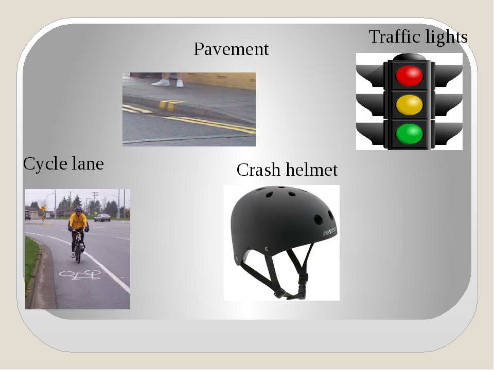 Cycle lane Crash helmet Traffic lights Pavement