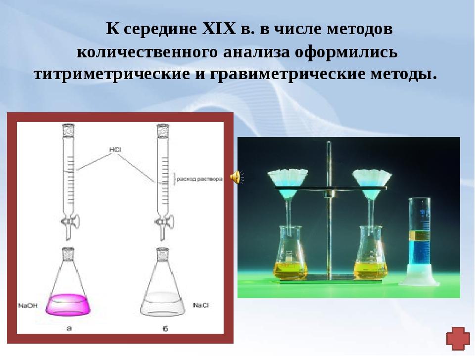 В современной аналитической химии используются автоматизация и математизация...