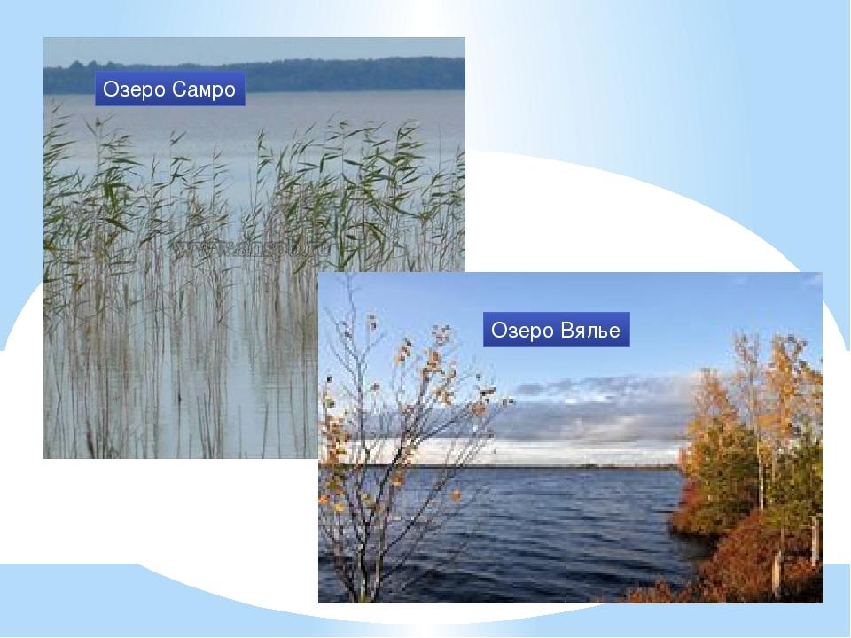Озеро Самро Озеро Вялье