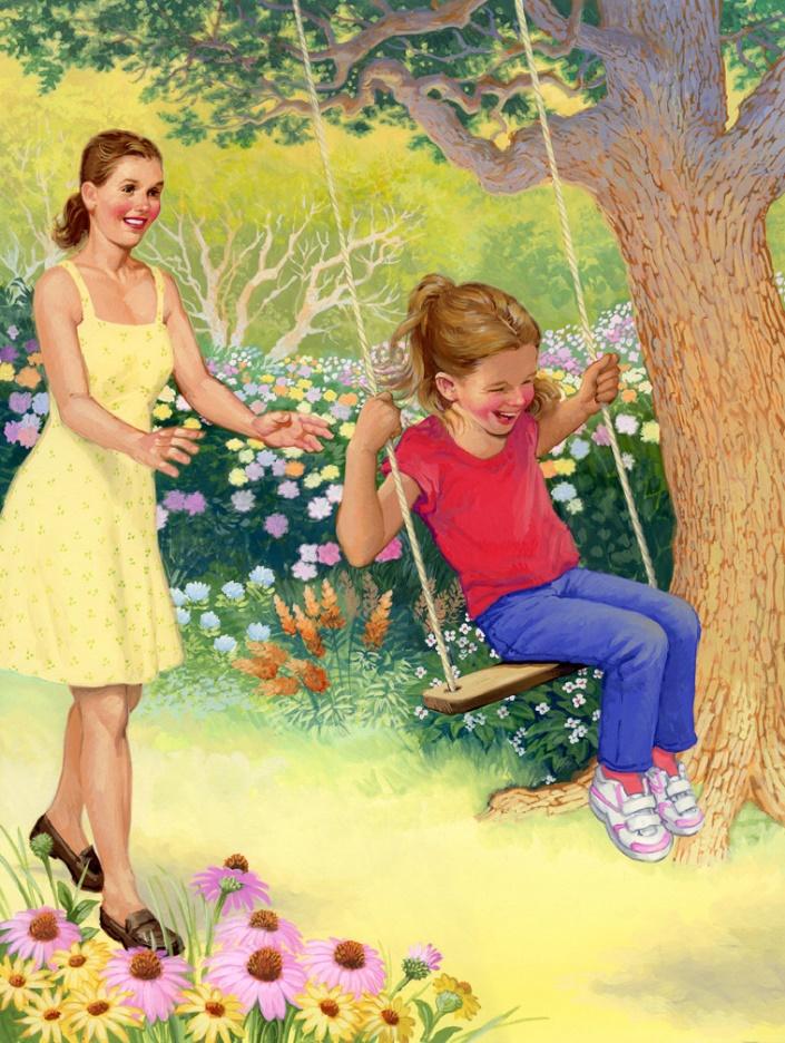 Тематические картинки для детей лето
