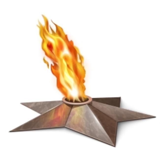 Гифки вечного огня на прозрачном фоне