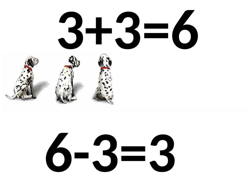 3+3=6 + 6-3=3