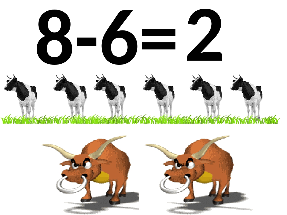 8-6= 2