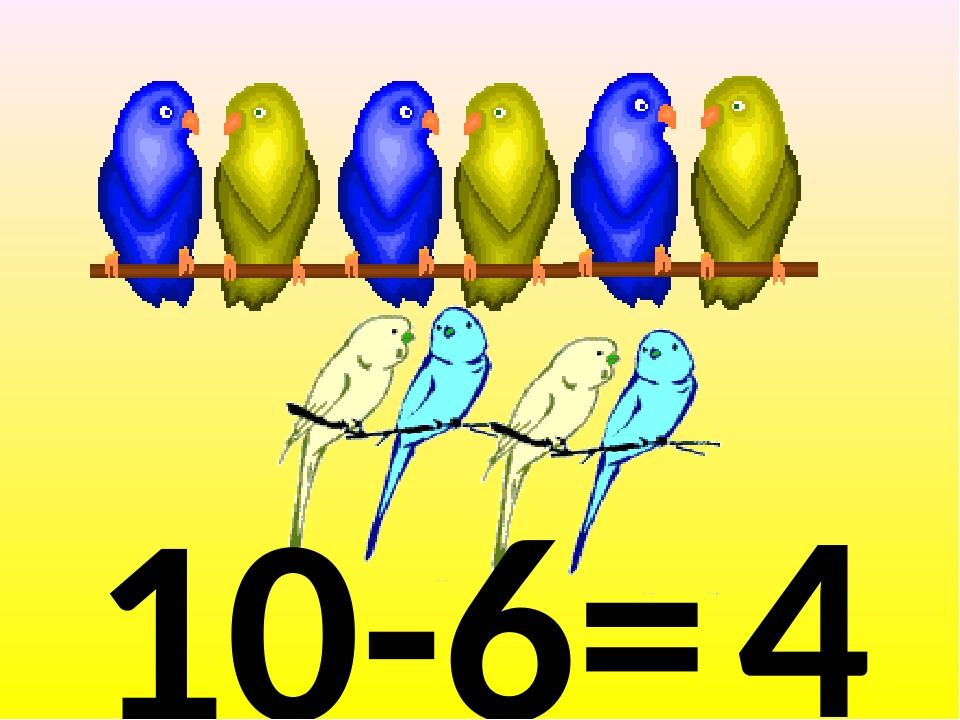 10-6= 4