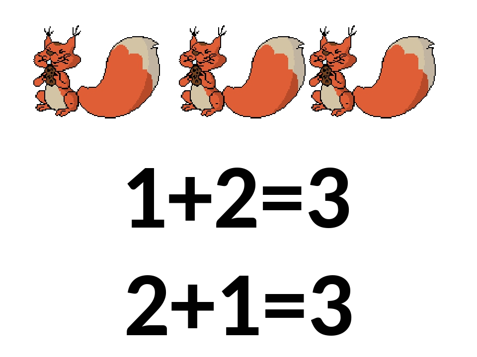 1+2=3 2+1=3