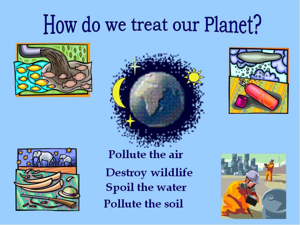 Экология картинки для презентаций на английскому
