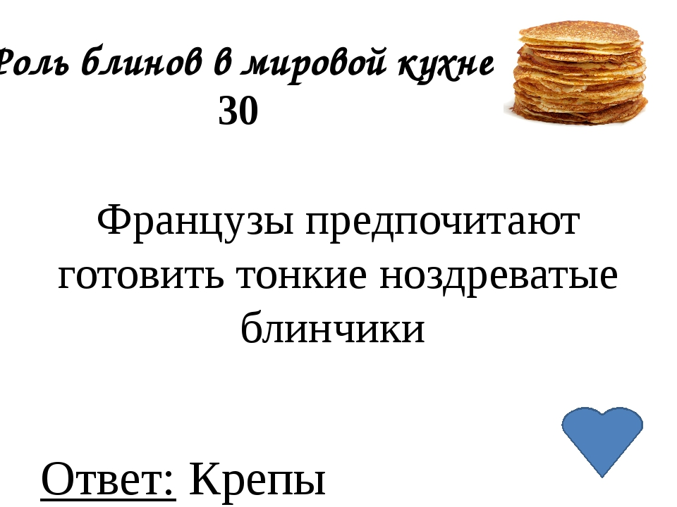 Роль блинов в мировой кухне 40 Как называются хрустящие блинчики из рисовой и...