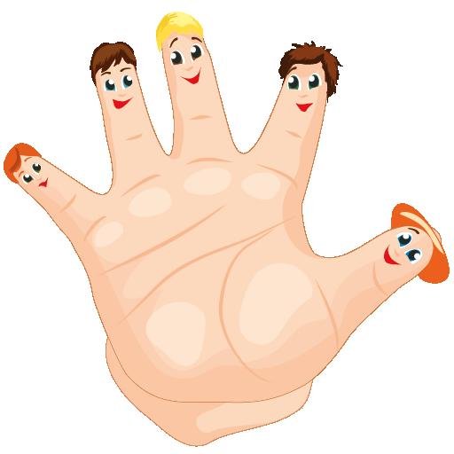 Картинка для пальчиков