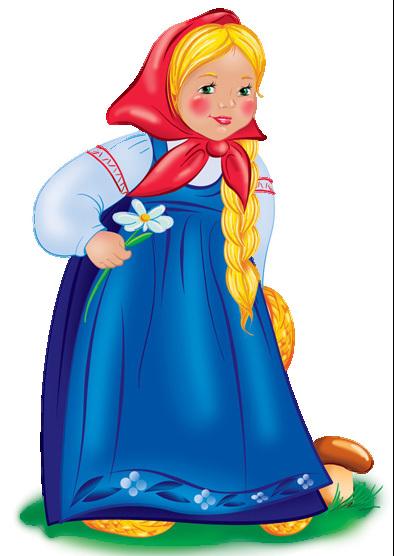 Внучка из сказки картинка для детей