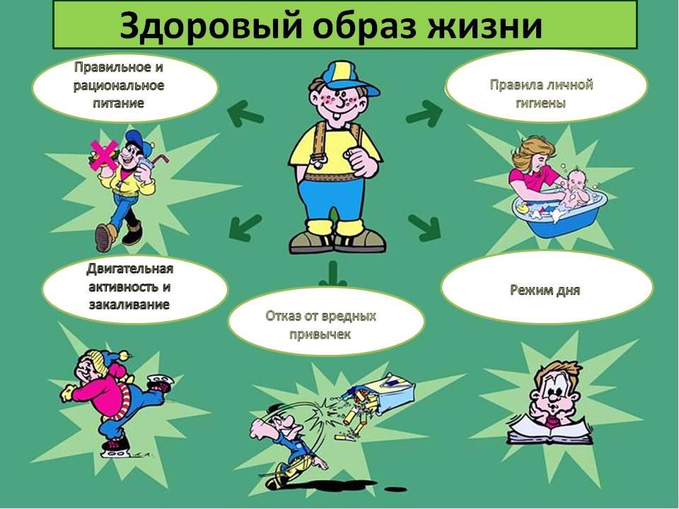 Картинки правила здорового образа жизни