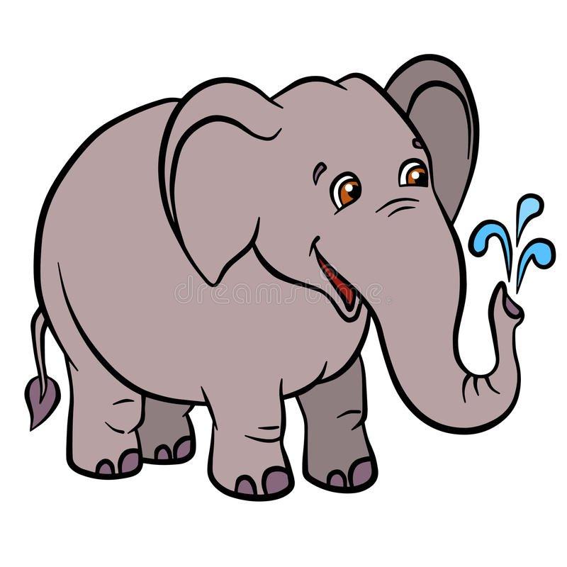 Большой и маленький слон картинки для детей