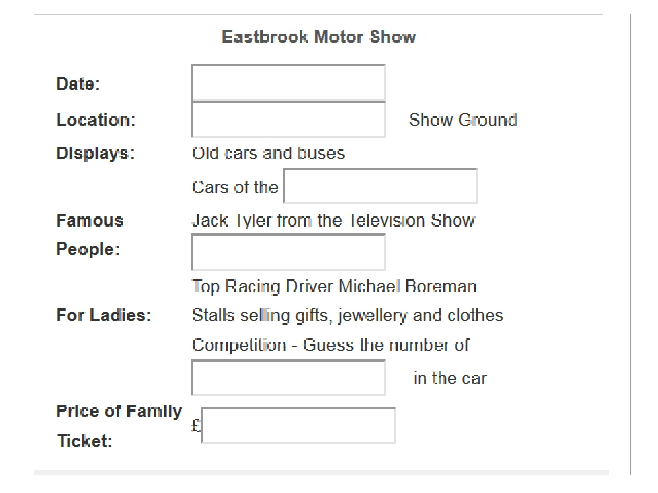 The Motor Show will be returning to Eastbrook this July, and if you thought...
