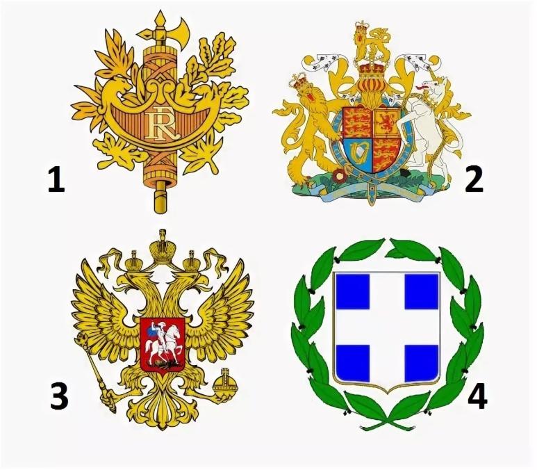 ряде моделей гербы разных стран в картинках и их названия настоящее