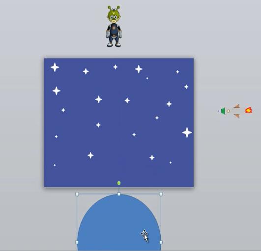 конспект занятия анимация просторность