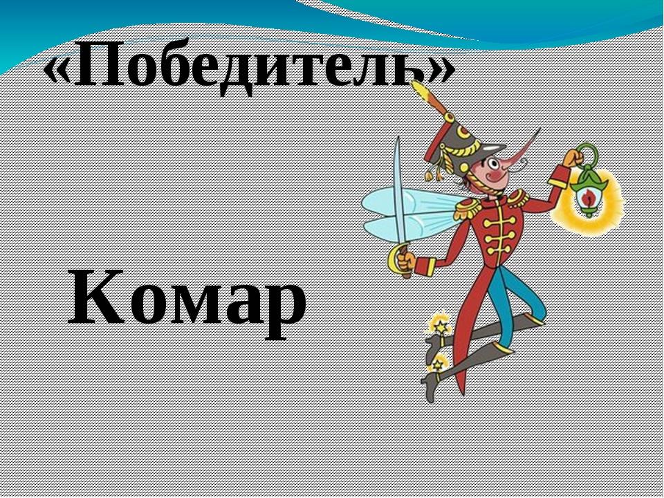 «Победитель» Комар