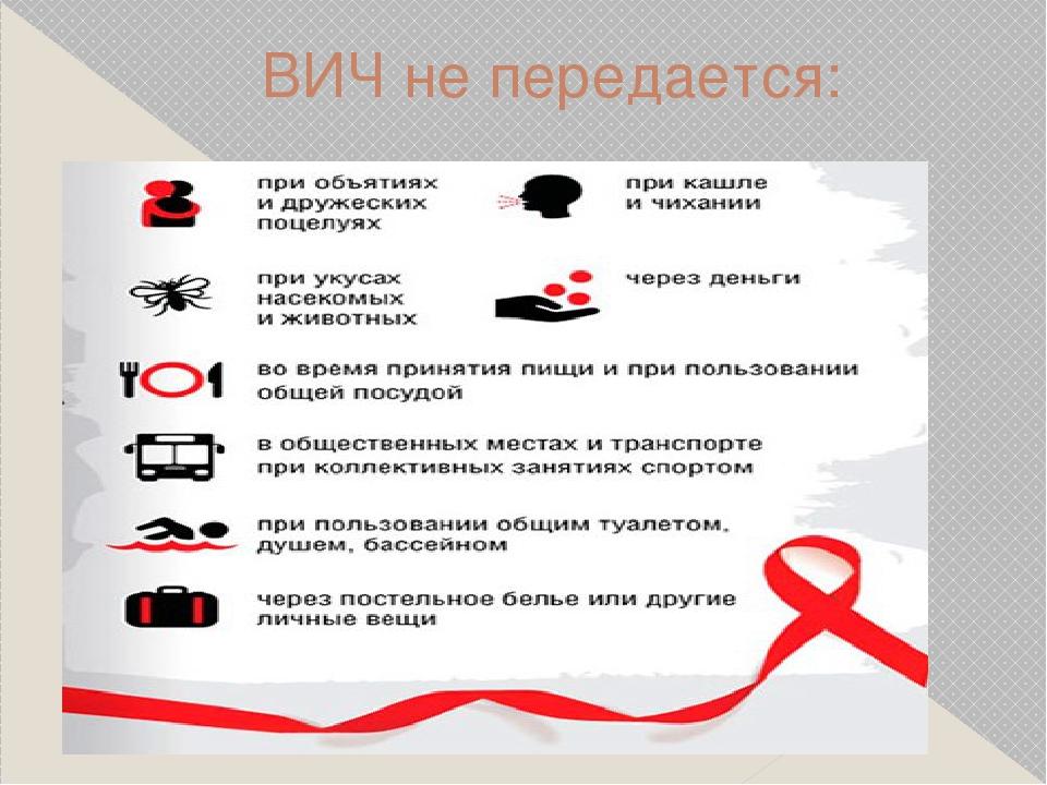 ВИЧ не передается:
