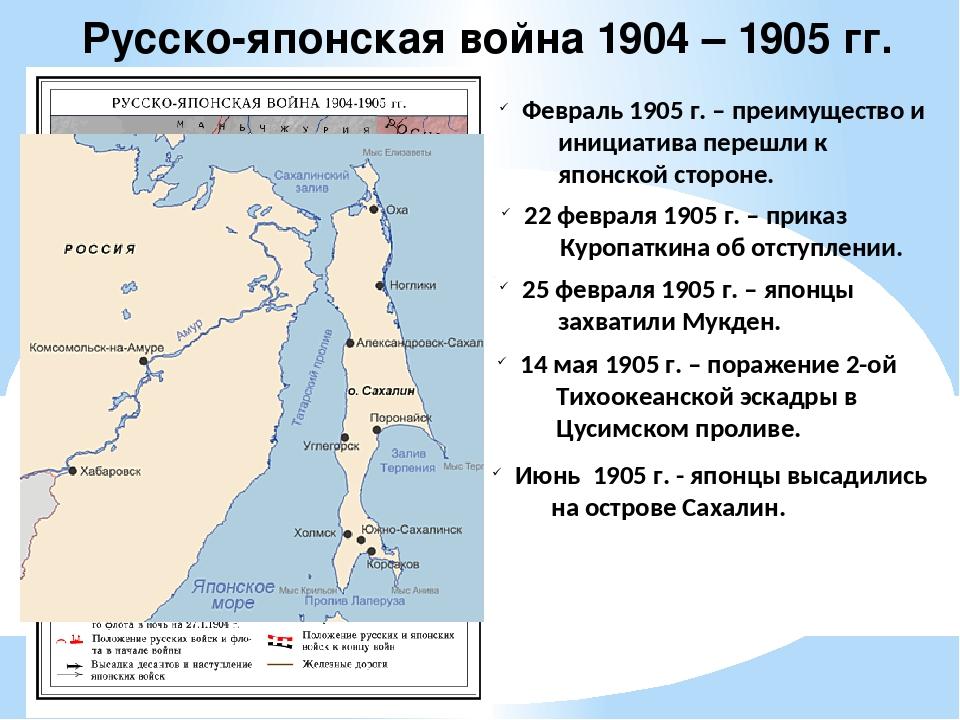 Русско-японская война 1904 – 1905 гг. Февраль 1905 г. – преимущество и инициа...