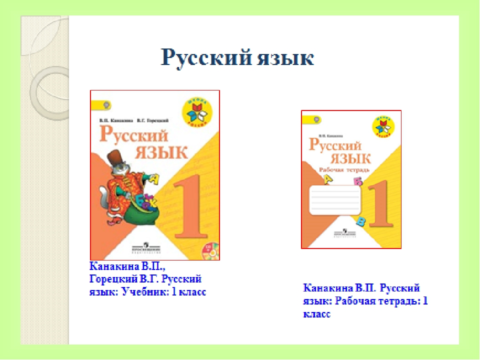 Канакина 1 рус.яз.4кл. гдз часть фгос