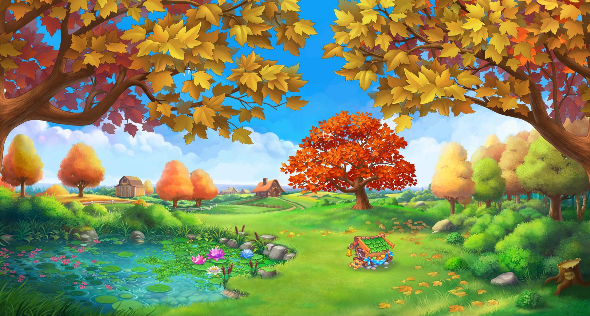 Яркие картинки осени для детского сада, поздравительные открытки