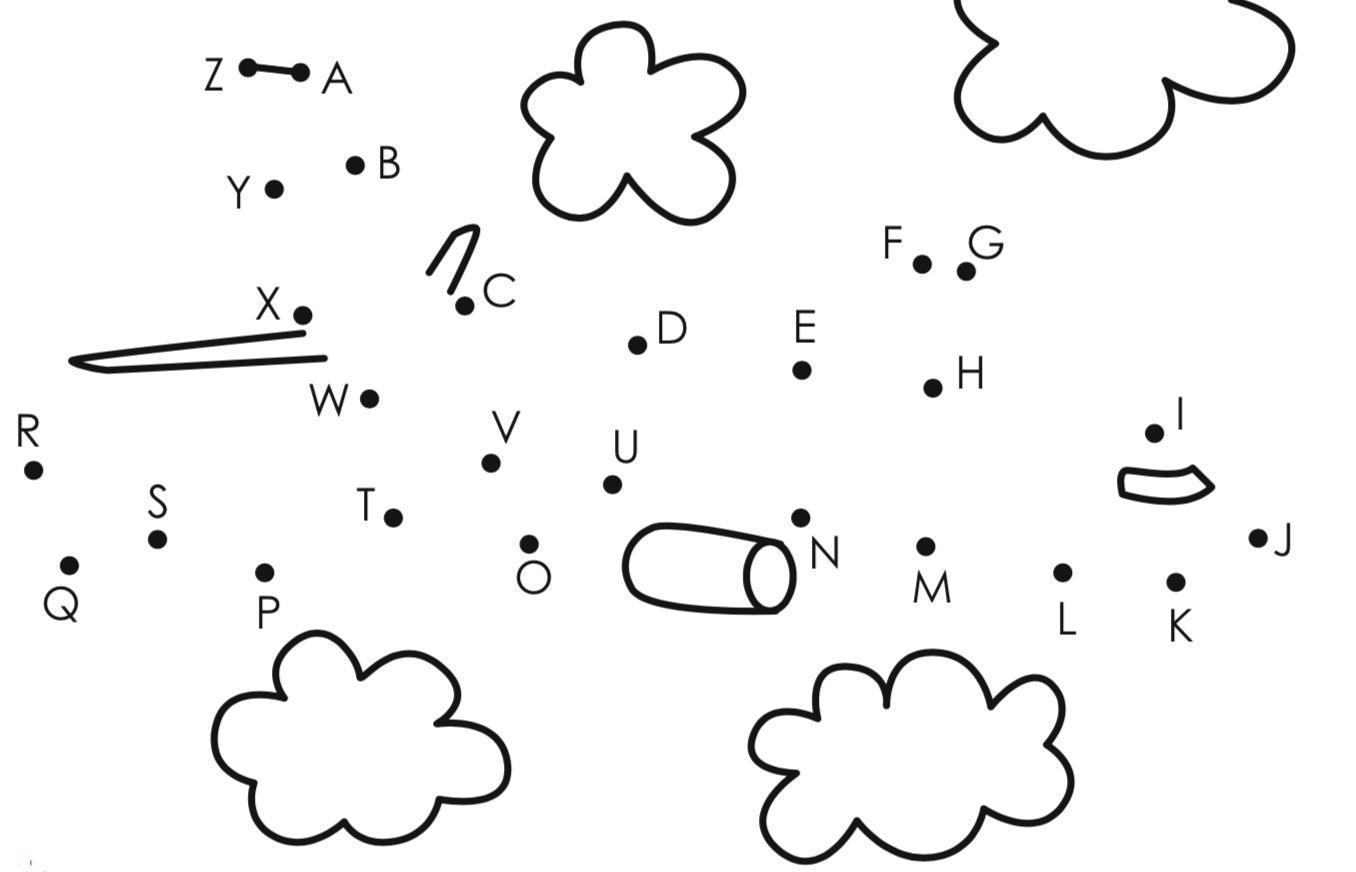 картинка по английскому алфавиту соединить квартиру