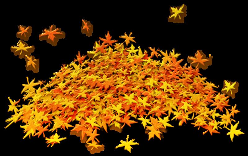 Днем святого, картинка анимация осенние листья для детей