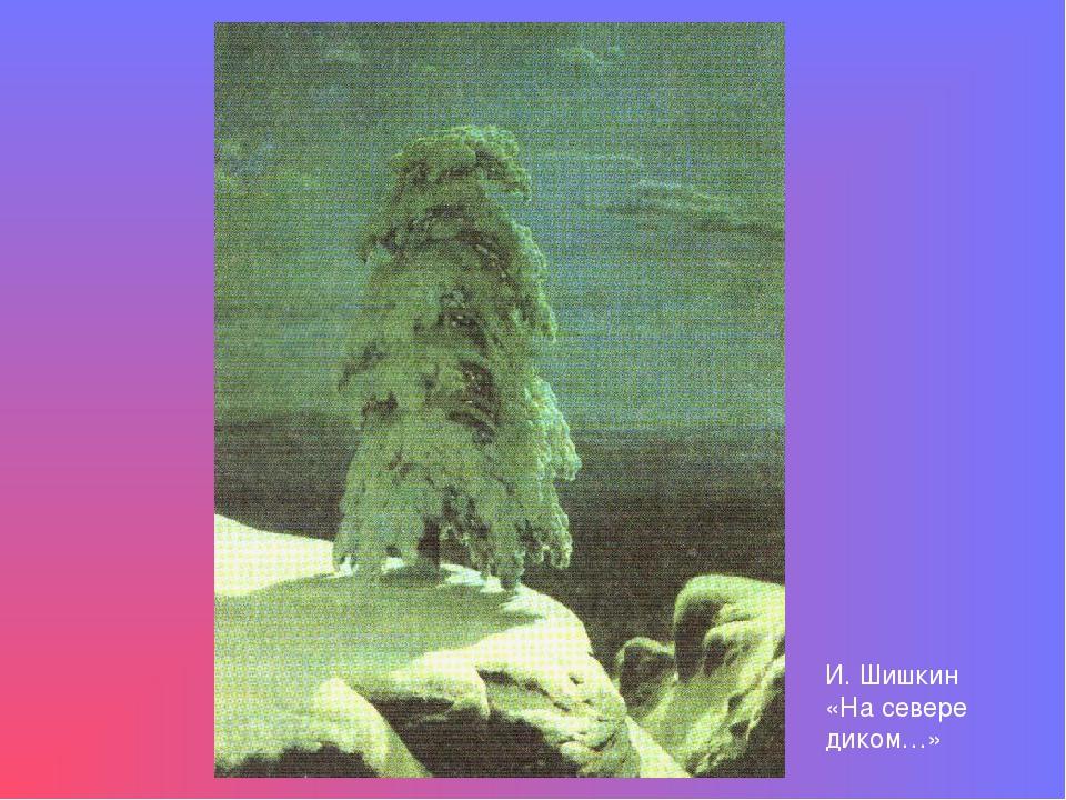 И. Шишкин «На севере диком…»