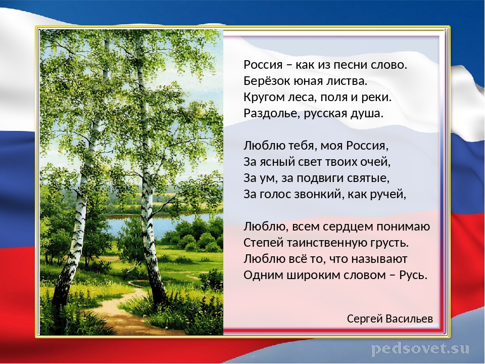 одна стихи на тему люблю тебя моя россия салавата