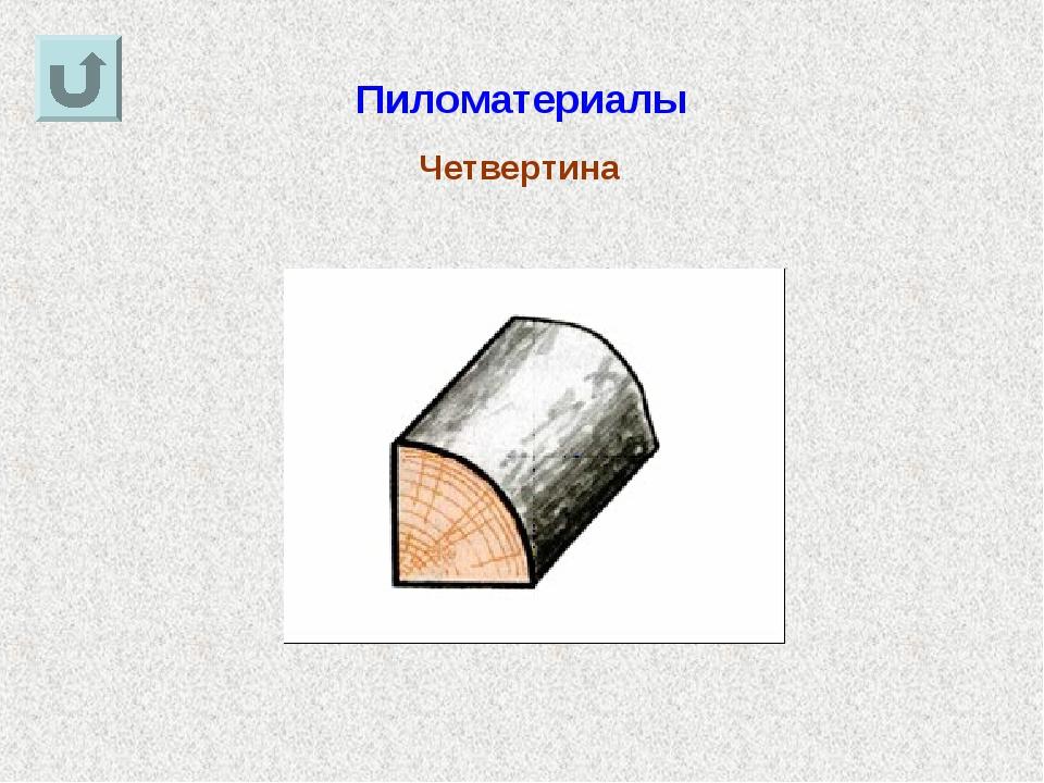 Пиломатериалы Четвертина