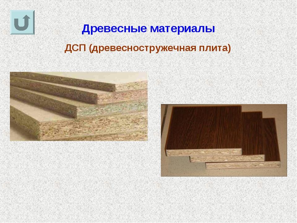 Древесные материалы ДСП (древесностружечная плита)