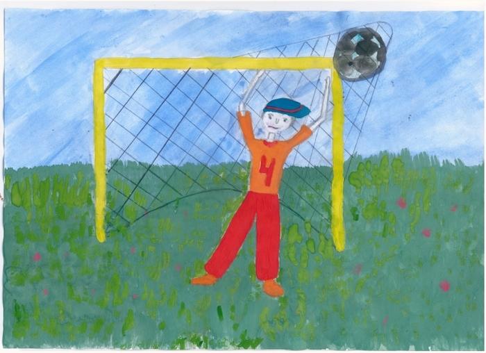 рисунок на тему мой любимый вид спорта эко названии