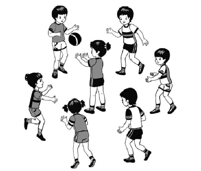 Картинки к подвижным играм для дошкольников