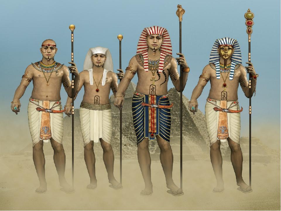 Египетские жрецы в картинках