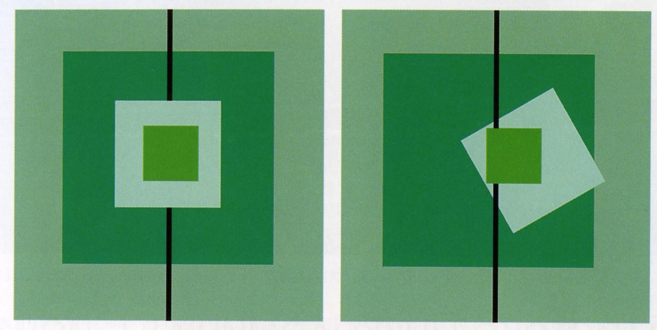 Симметрия и асимметрия открытка