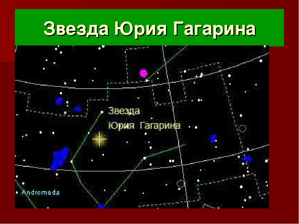 Звезда Юрия Гагарина
